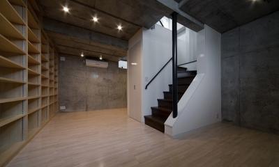 半地下収納部屋|WA邸
