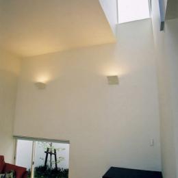 BF邸 (高窓による採光の確保2)