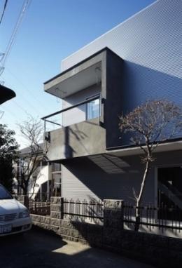 house HYS (外観詳細(撮影:H.HIRAI))
