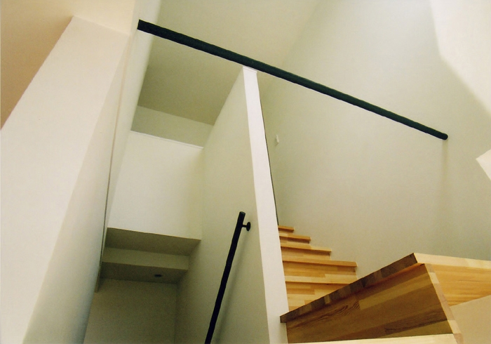 BF邸の写真 階段