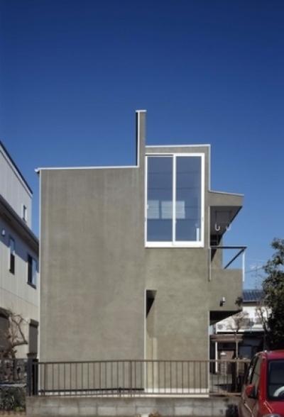 house HYS (南西外観(撮影:H.HIRAI))