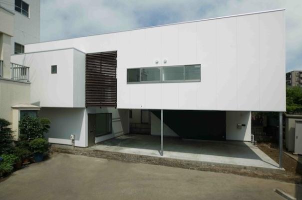house I (外観)