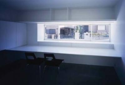 書斎(撮影:H.HIRAI & H.SUGIURA) (house Kf)