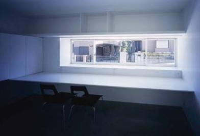 house Kfの部屋 書斎(撮影:H.HIRAI & H.SUGIURA)