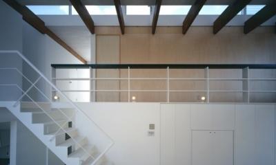 主室・階段(撮影:T.KURUMATA) house S
