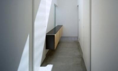 house S (玄関(撮影:T.KURUMATA))