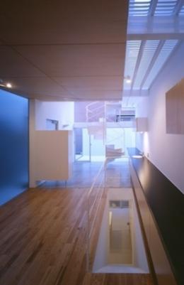 house H (主室 エントランス テラス(撮影:T.KURUMATA))