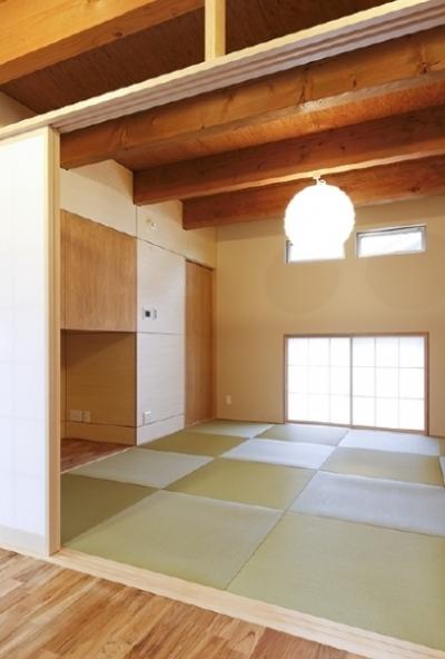 和室(撮影:Tomohiro Sakashita) (燻の家)