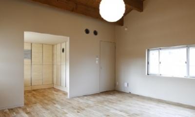 燻の家 (ベッドルーム(撮影:Tomohiro Sakashita))