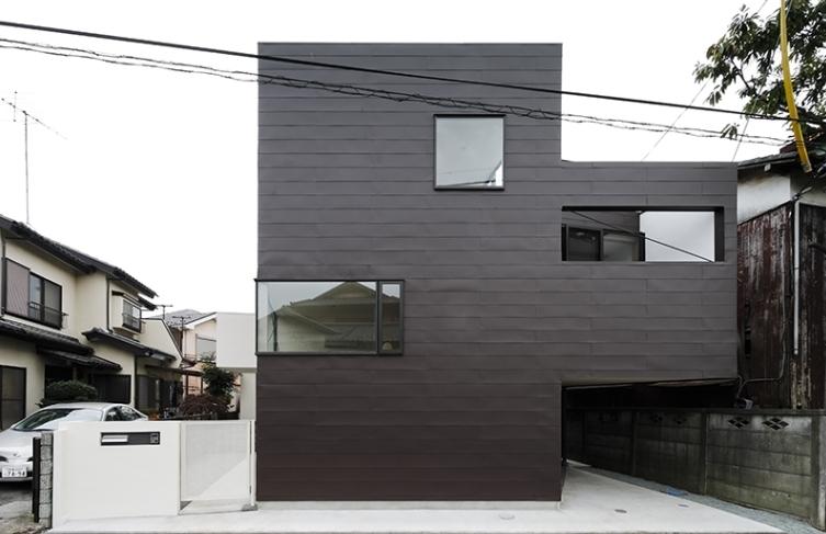 凸の家の部屋 外観(撮影:Tomohiro Sakashita)