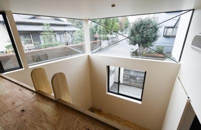 凸の家 (ロフト上部(撮影:Tomohiro Sakashita))