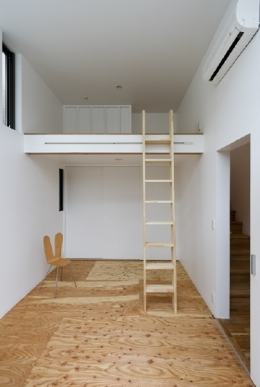 凸の家 (ロフト(撮影:Tomohiro Sakashita))