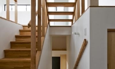 凸の家 (階段(撮影:Tomohiro Sakashita))