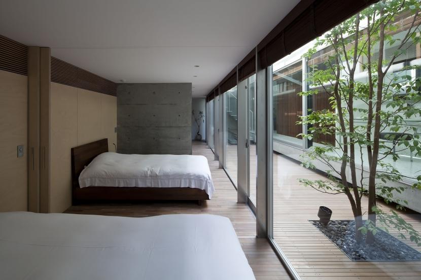 PATIOの部屋 寝室
