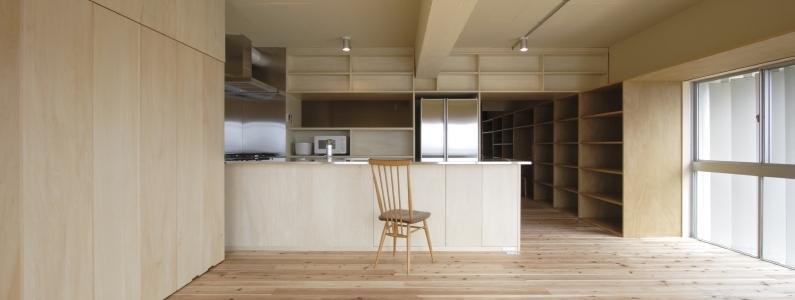 902の部屋 キッチンダイニング(撮影:Tomohiro Sakashita)