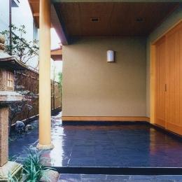 大手町の家 (玄関1)