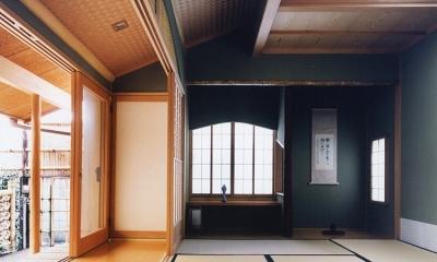 大手町の家 (中庭に面した和室1)