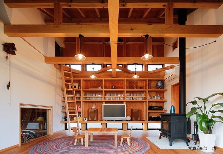 建築家:株式会社 米田横堀建築研究所「つづく家」