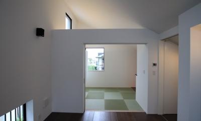 パーティーキッチンの家(1) (モダンなデザインの和室)