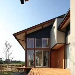 陽の家-テラス