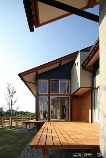 陽の家の写真 テラス