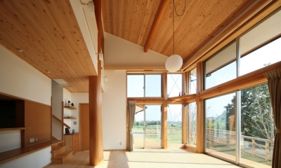 リビング1|陽の家