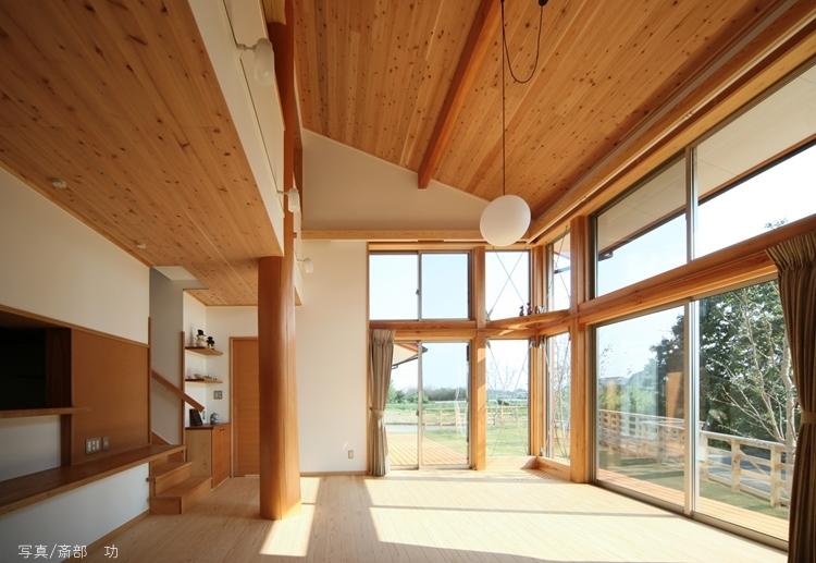建築家:株式会社 米田横堀建築研究所「陽の家」