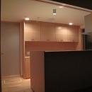 吉田の家の写真 キッチン夜景