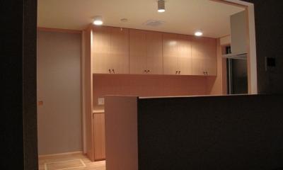 キッチン夜景|吉田の家