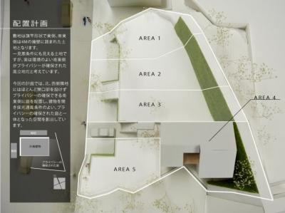 箕面建売住宅PJ_AREA 4 (模型写真02)