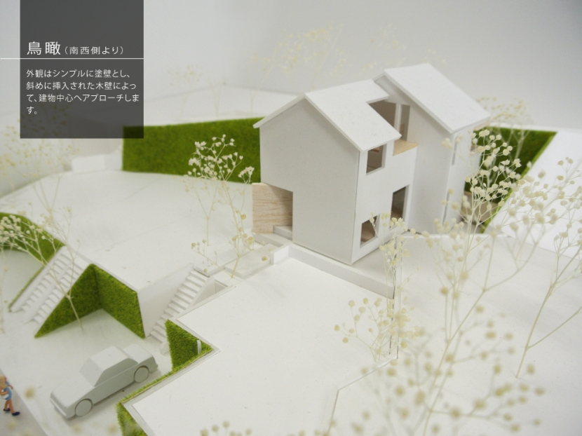 箕面建売住宅PJ_AREA 4の部屋 模型写真03