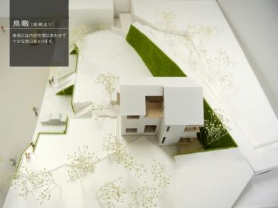 箕面建売住宅PJ_AREA 4 (模型写真04)