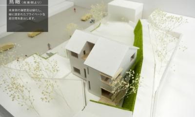 箕面建売住宅PJ_AREA 4 (模型写真05)