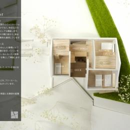 箕面建売住宅PJ_AREA 4 (模型写真08)