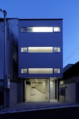 WOOD×STEEL HOUSE (外観)