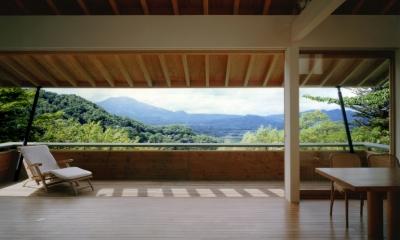 南軽井沢の家 (リビングダイニング 2)