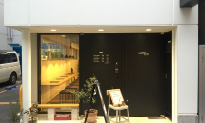 cafe634|エントランス1|cafe634(東銀座)