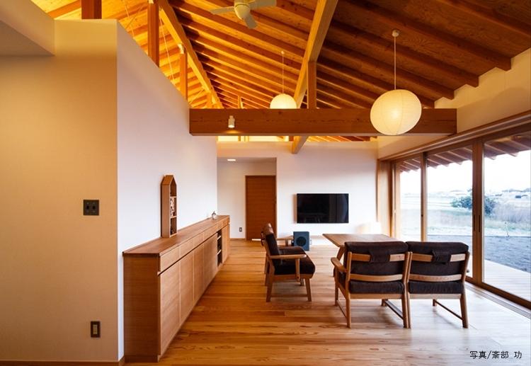 米田横堀建築研究所「素直な家」