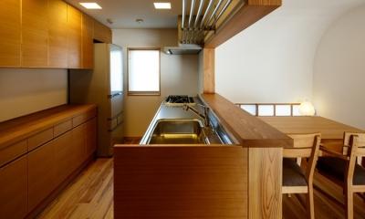 素直な家 (キッチン)