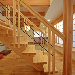 ゆるまる家-階段