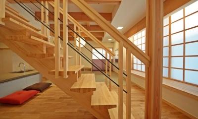 ゆるまる家 (階段)