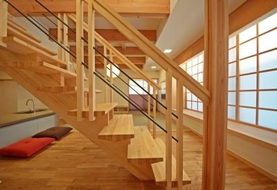 階段 (ゆるまる家)