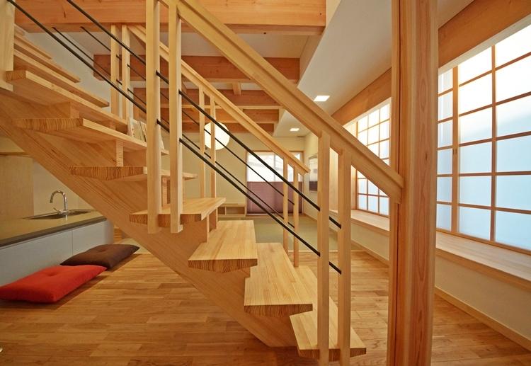 ゆるまる家の部屋 階段