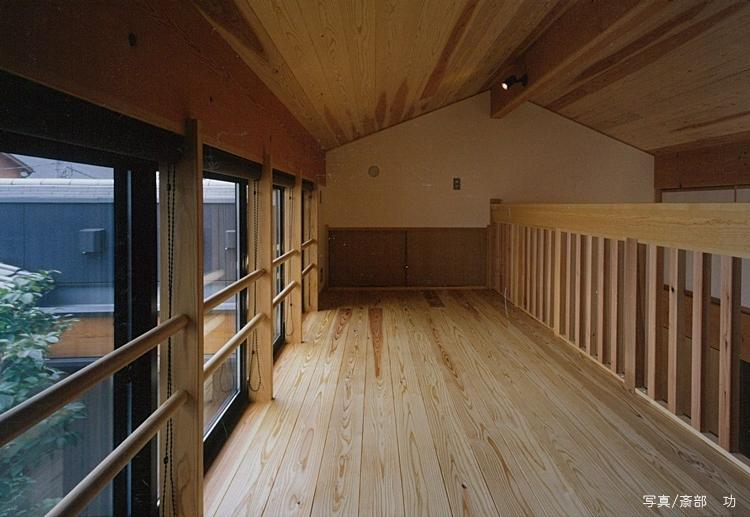 風の家の部屋 ロフト
