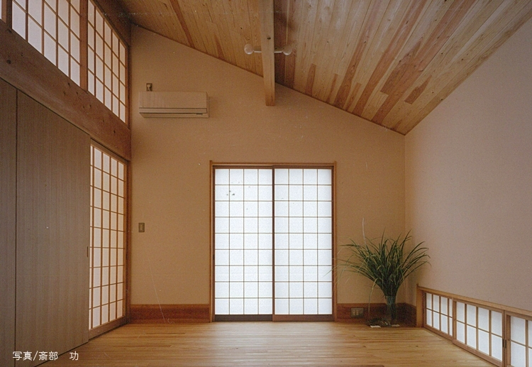 風の家の写真 ベッドルーム