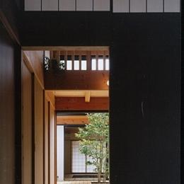 風の家 (中心に中庭3)