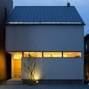 米田横堀建築研究所の住宅事例「ひかりの家」