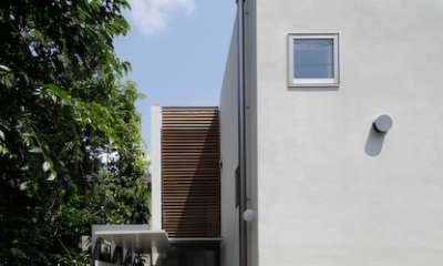 YM house (外観-玄関)