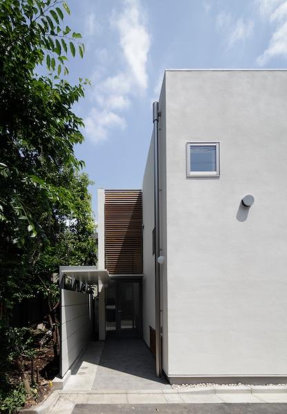 YM houseの部屋 外観-玄関
