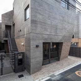 Villa Kanon (外観-賃借人用入り口)